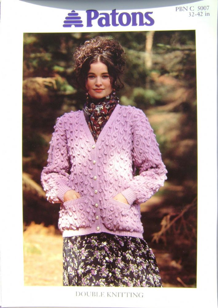 Patons Knitting Pattern 5007